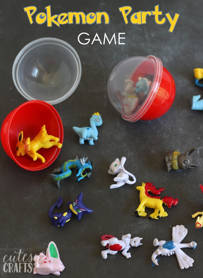 Pokemon Party Ideas Cutesy Crafts