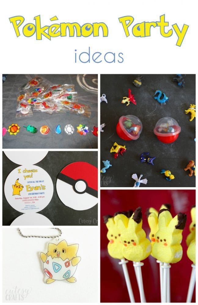 pokemon birthday party invitations (with free silhouette cut file, Party invitations