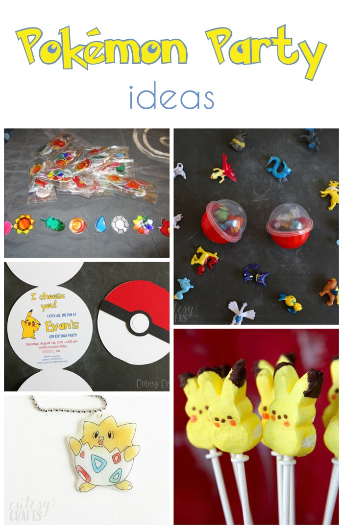 pokemon-party-ideas Foam Baby Shower Ideas