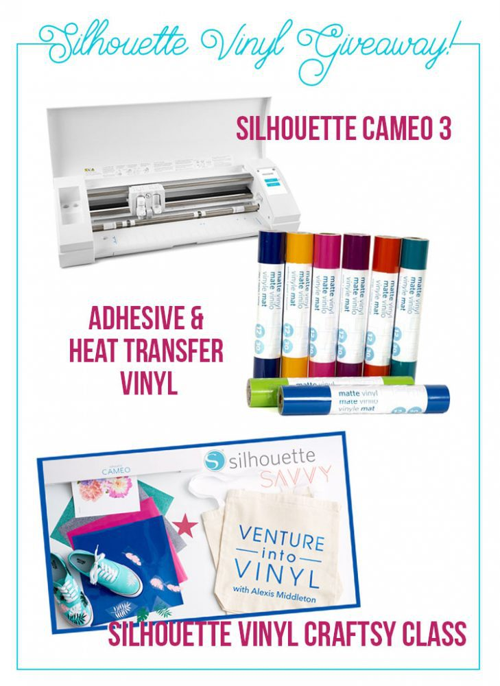 Silhouette Vinyl Giveaway!