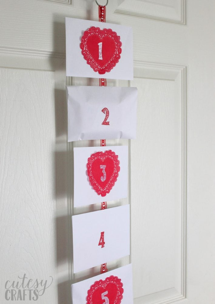 Valentine's Day Countdown Idea