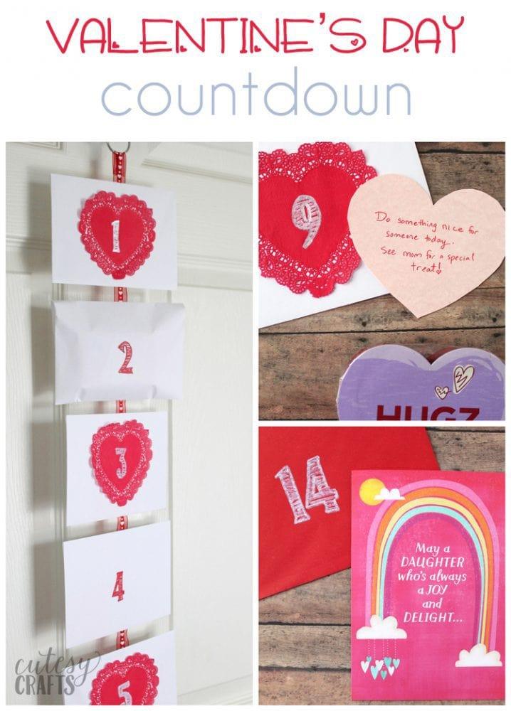 Valentine's Day Countdown Idea