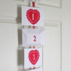 Valentine's Day Countdown Idea for Kids