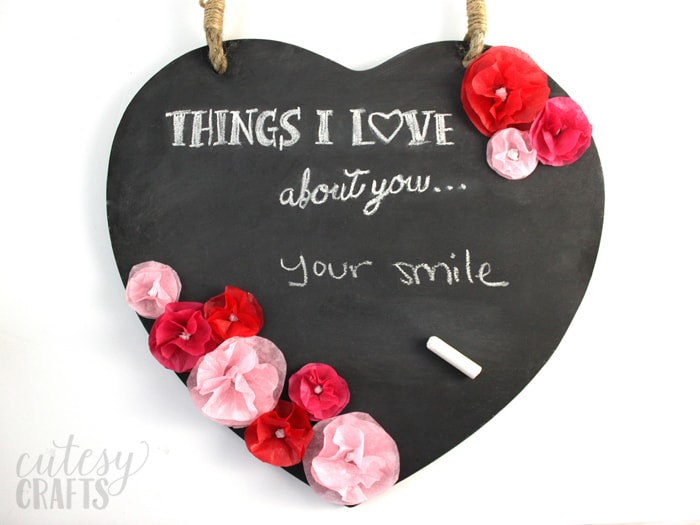 Things I Love About You Cutesy Crafts