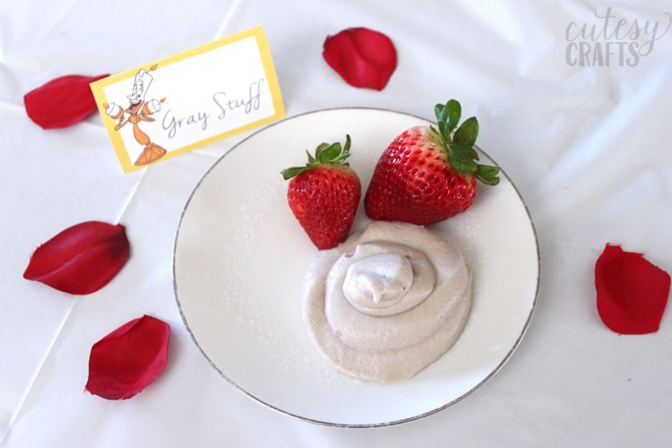 Beauty and the Beast Party Ideas - Gray Stuff