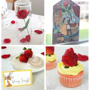 Easy Beauty and the Beast Party Ideas