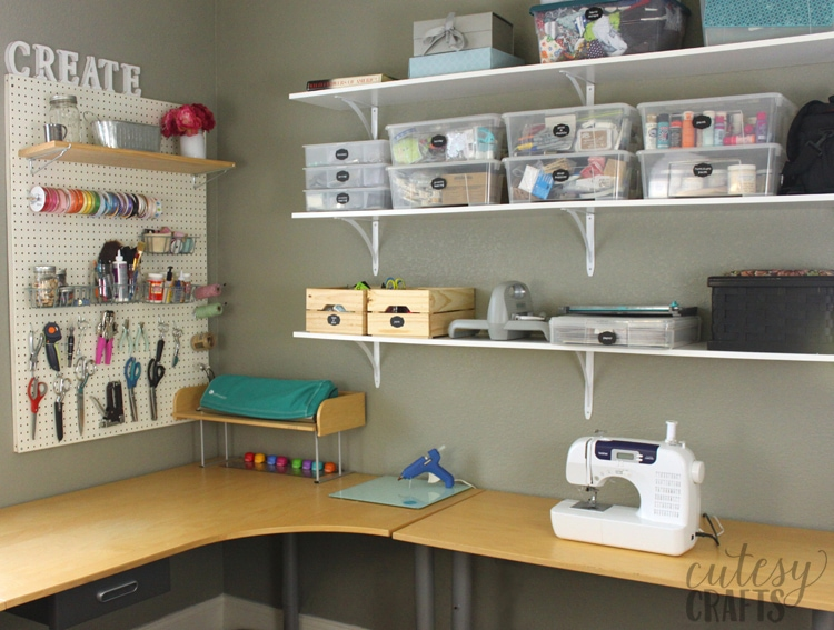 Inexpensive Craft Room Ideas