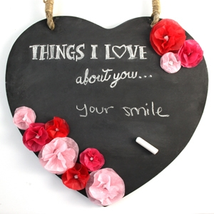 DIY Valentine's Day Gift – Things I Love About You