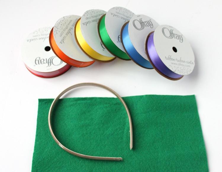 St. Patrick's Day Craft - Rainbow Headband
