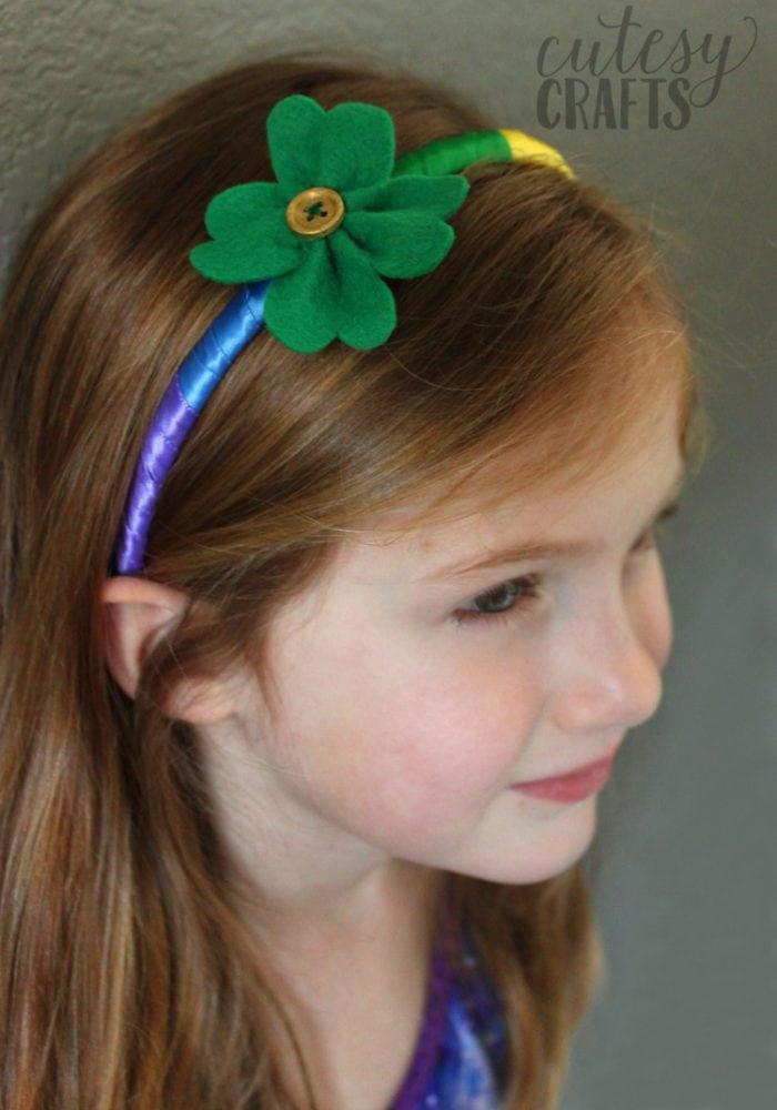 St patrick day rainbow headbands 12 cutesy crafts for St patricks day craft