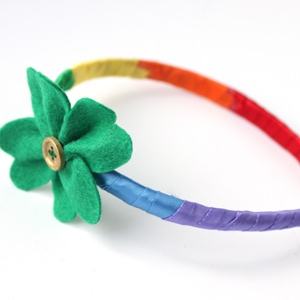 St. Patrick's Day Craft – Rainbow Headband