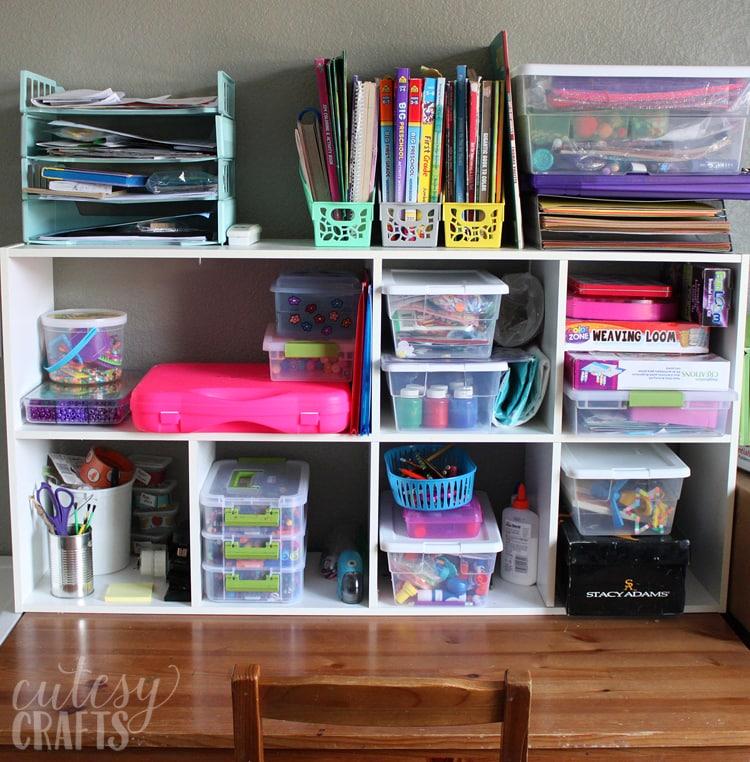 Easy Craft Room Ideas Cutesy Crafts