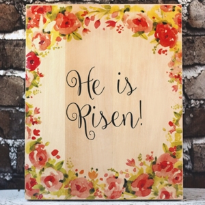 Principles of Peace and a DIY Easter Decoration