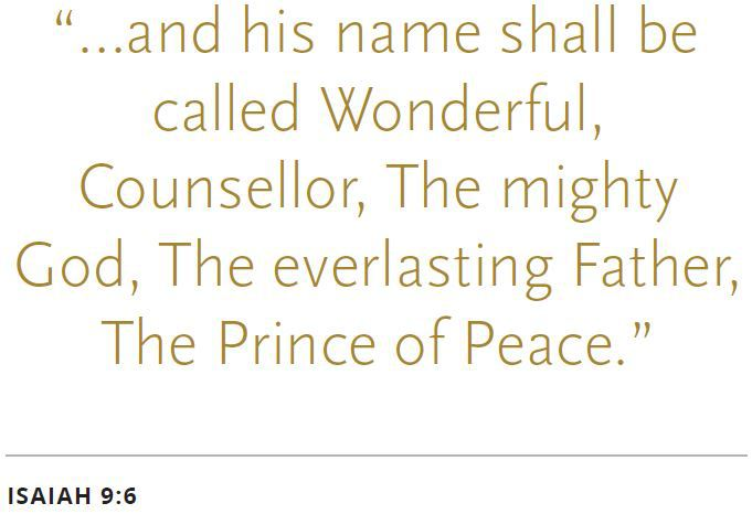 Isaiah 9:6 Prince of Peace