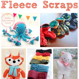 20 Adorable Things to Make with Fleece Scraps