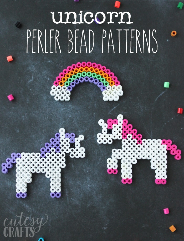 Perler beads unicorn ideas
