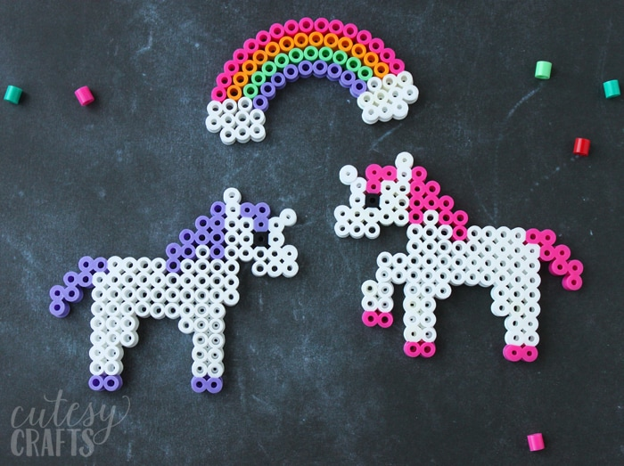 Unicorn Craft - Perler Bead Patterns