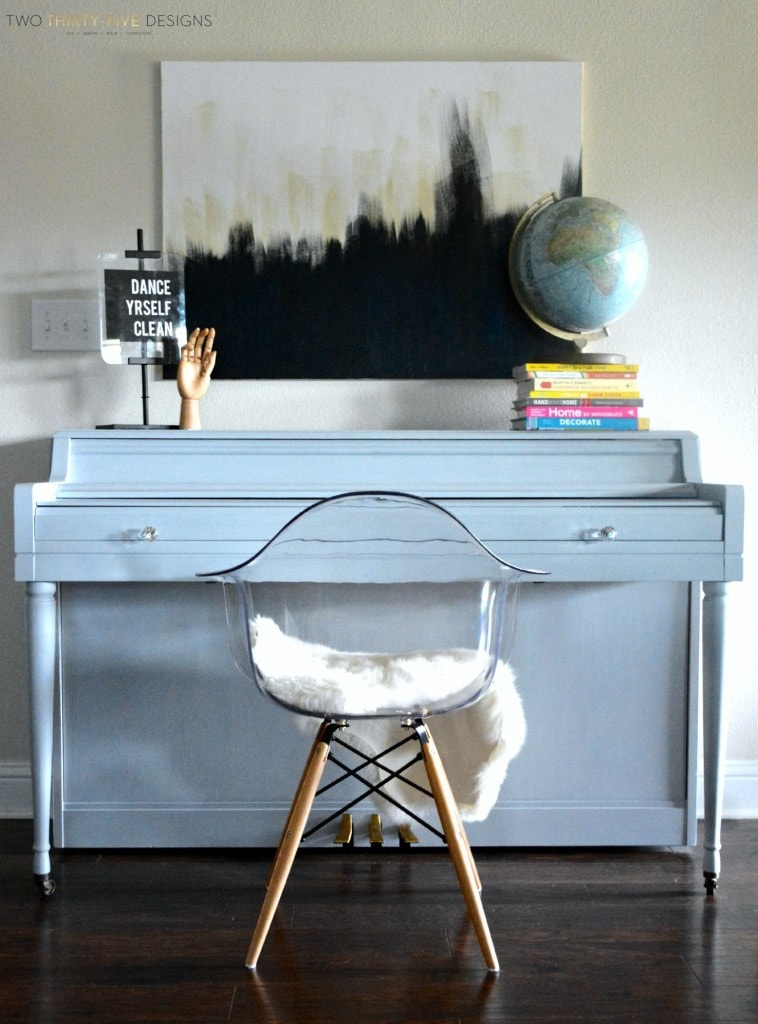 15 Beautiful Piano Painting Makeovers