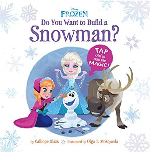 Frozen Toys your Kids will Love - Interactive Book