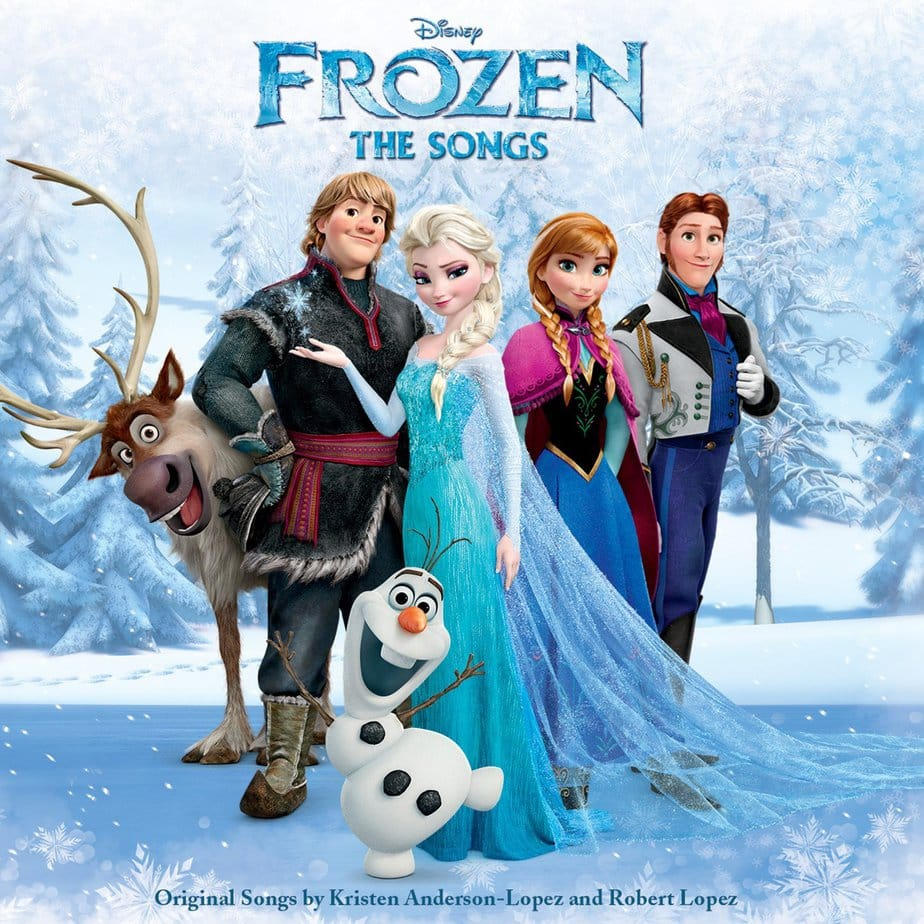 Frozen Toys your Kids will Love - Soundtrack