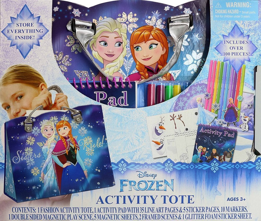 Frozen Toys your Kids will Love - Activity Tote