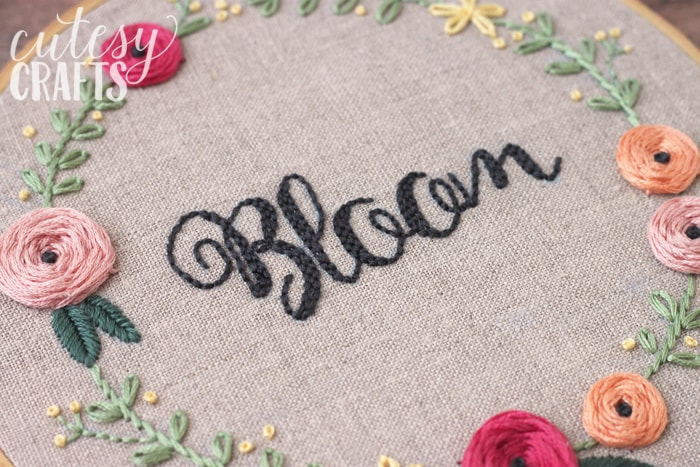 """Bloom"" Hand Embroidery Pattern"