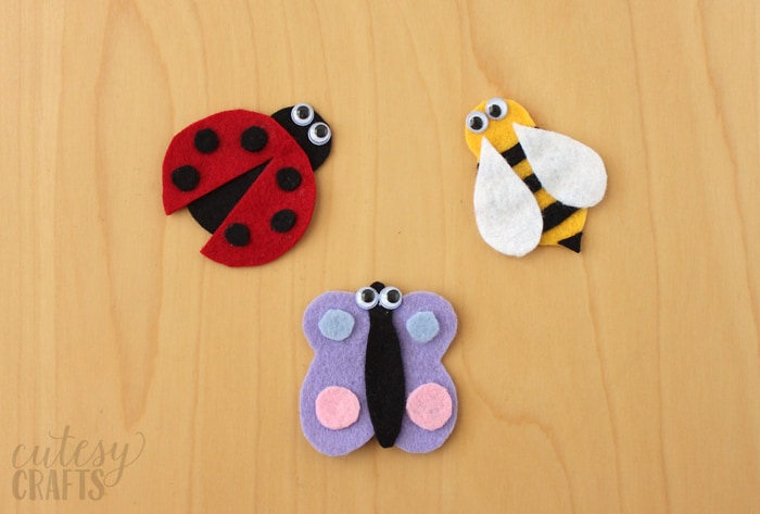 felt bug patterns