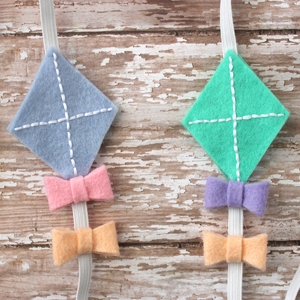 Felt Kite Headbands