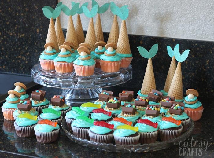 Diy Mermaid Cupcakes Cutesy Crafts