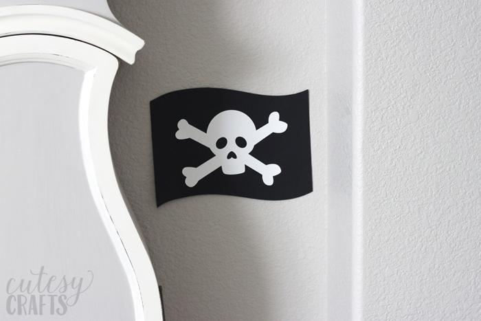 Pirate Flag Silhouette Cut File