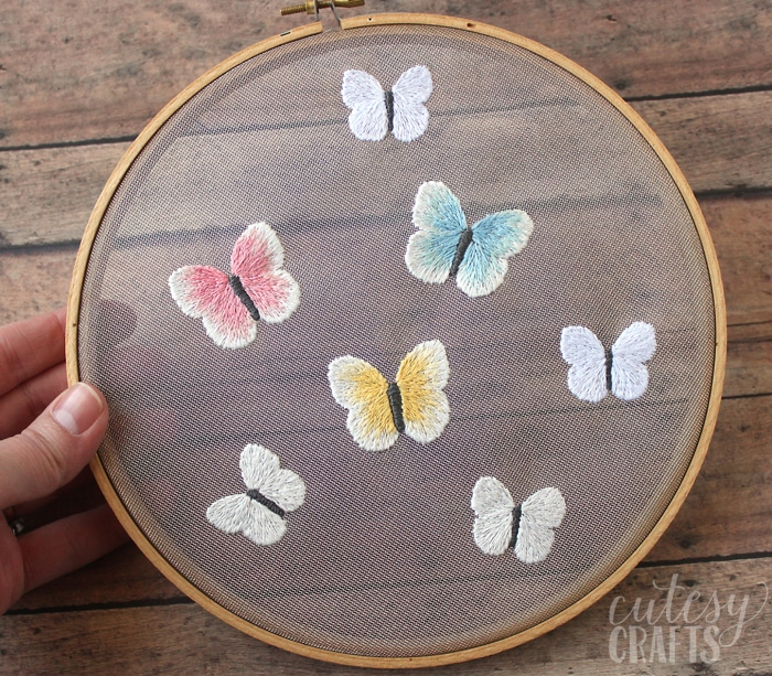 Free Embroidery Patterns - Butterflies