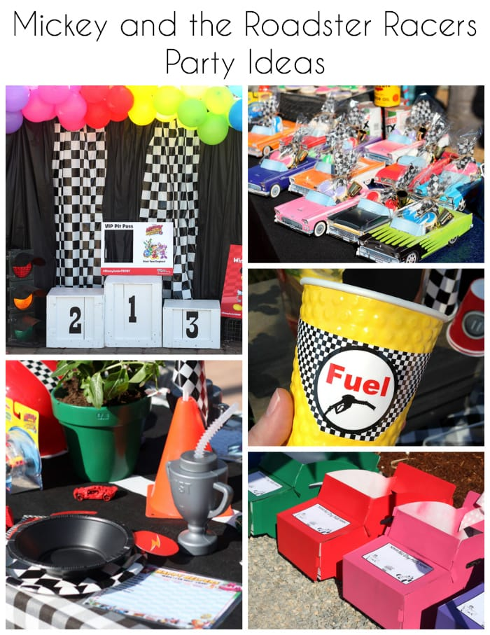 """Disney Junior """"Mickey and the Roaster Racers"""" Party"""