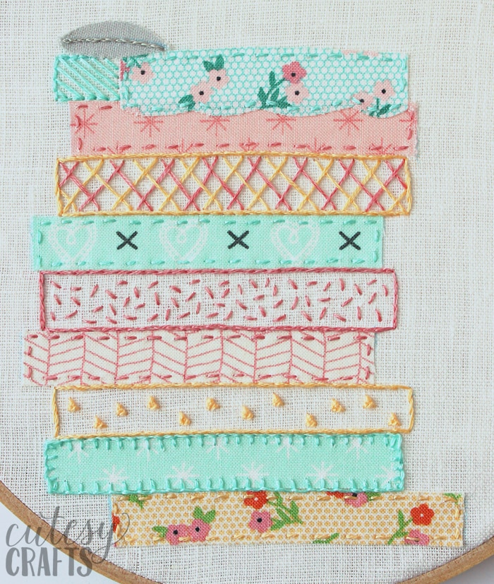 Princess and the Pea Fairy Tale Hand Embroidery Pattern