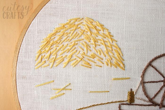 Rumpelstiltskin Fairy Tale Hand Embroidery Pattern