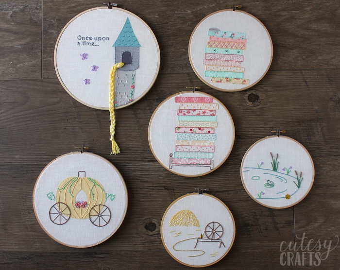 Free Embroidery Patterns - Fairy Tales