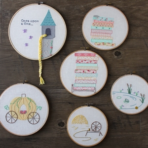 Fairy Tale Hand Embroidery Designs