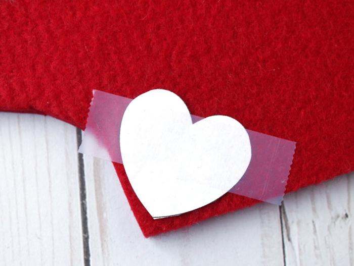 paper heart template