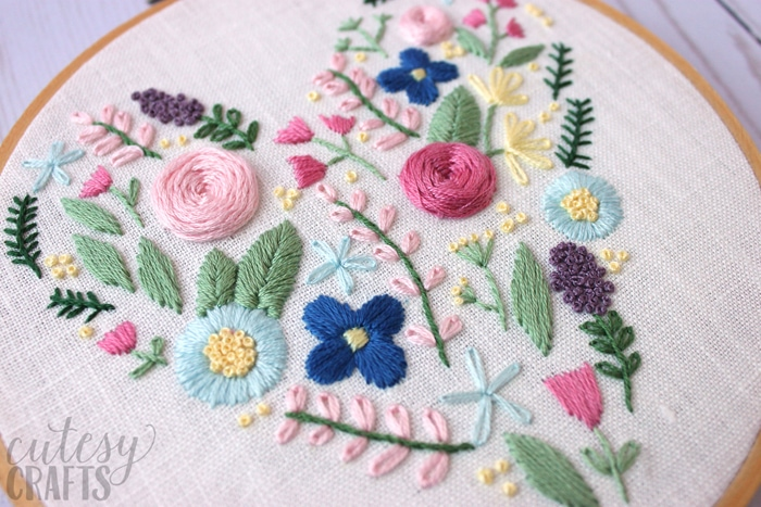 Free hand embroidery pattern!