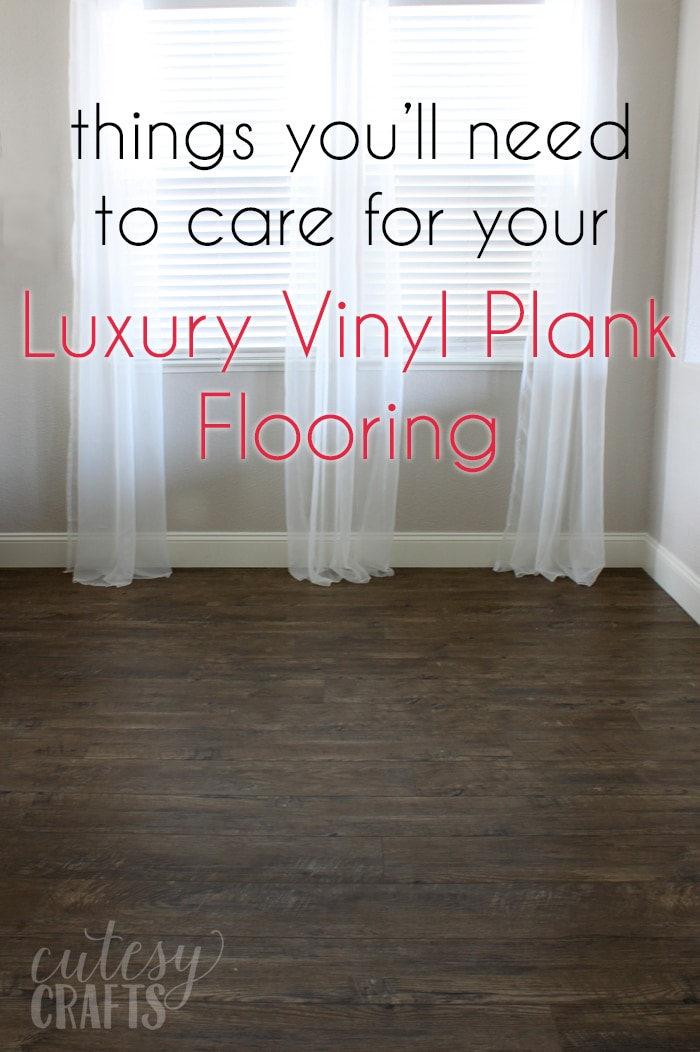Things you'll need for your Luxury Vinyl Plank Flooring