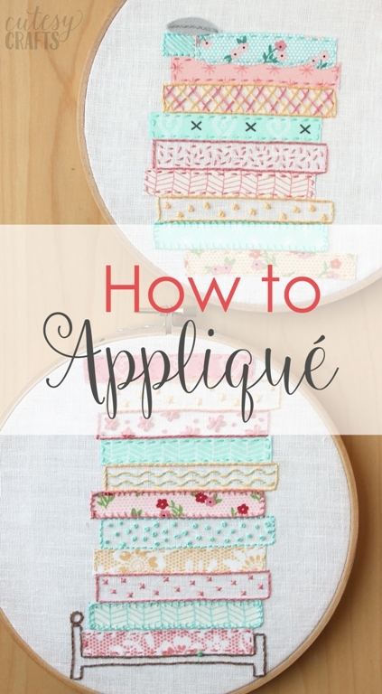 How to Applique By Hand