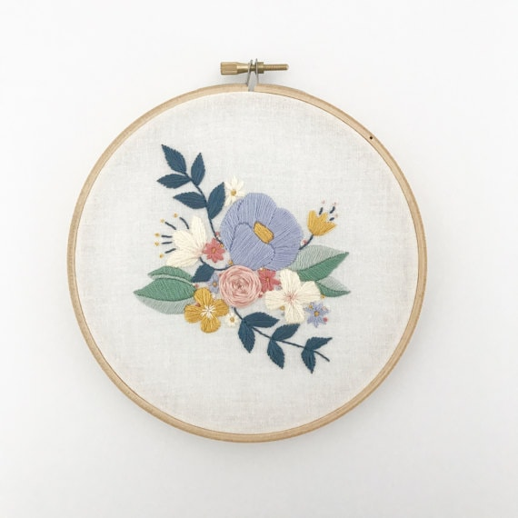 20 Flower Embroidery Patterns Cutesy Crafts