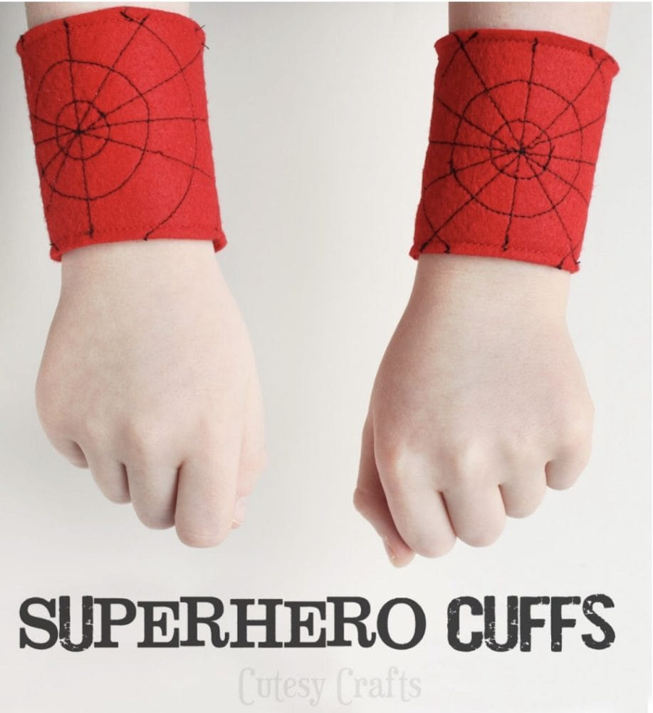 Spiderman Cuffs