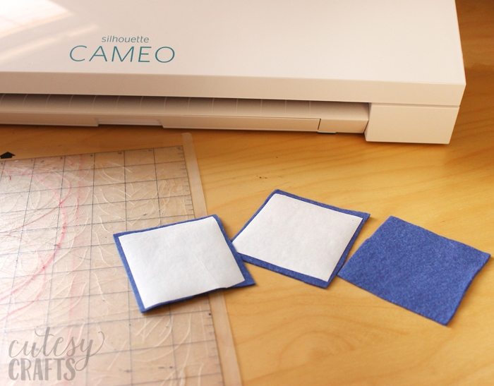 Cutting Felt with the Silhouette Cameo 3