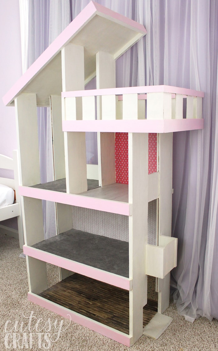 Doll House Makeover Cutesy Crafts
