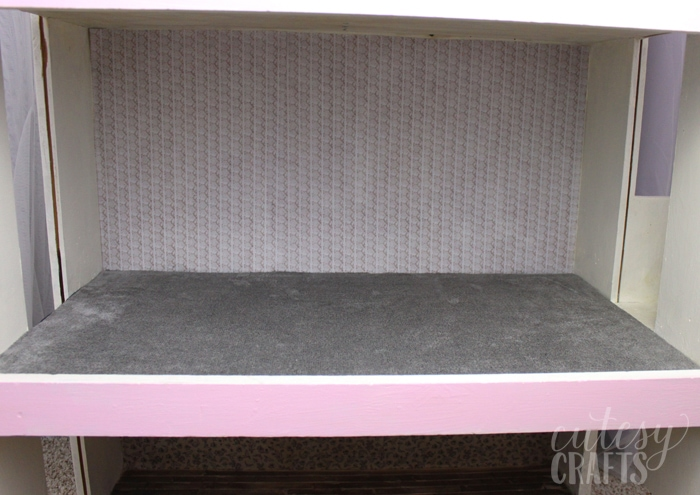 Doll House Makeover - Carpet
