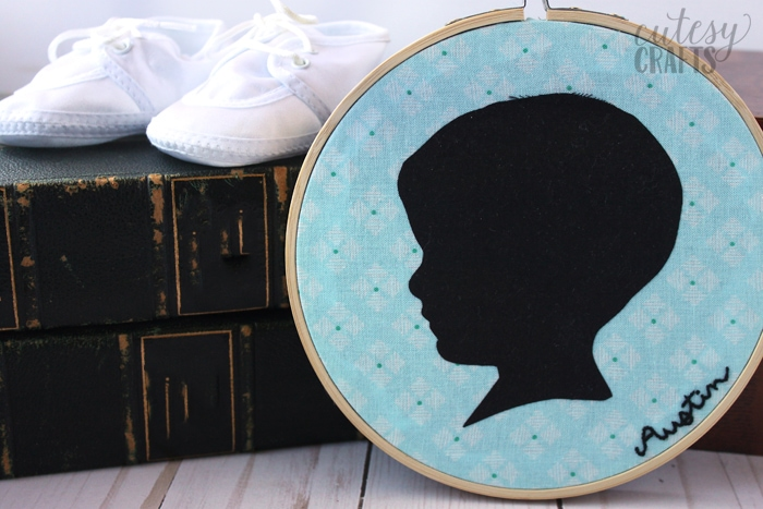 Silhouette DIY Mother's Day Gift