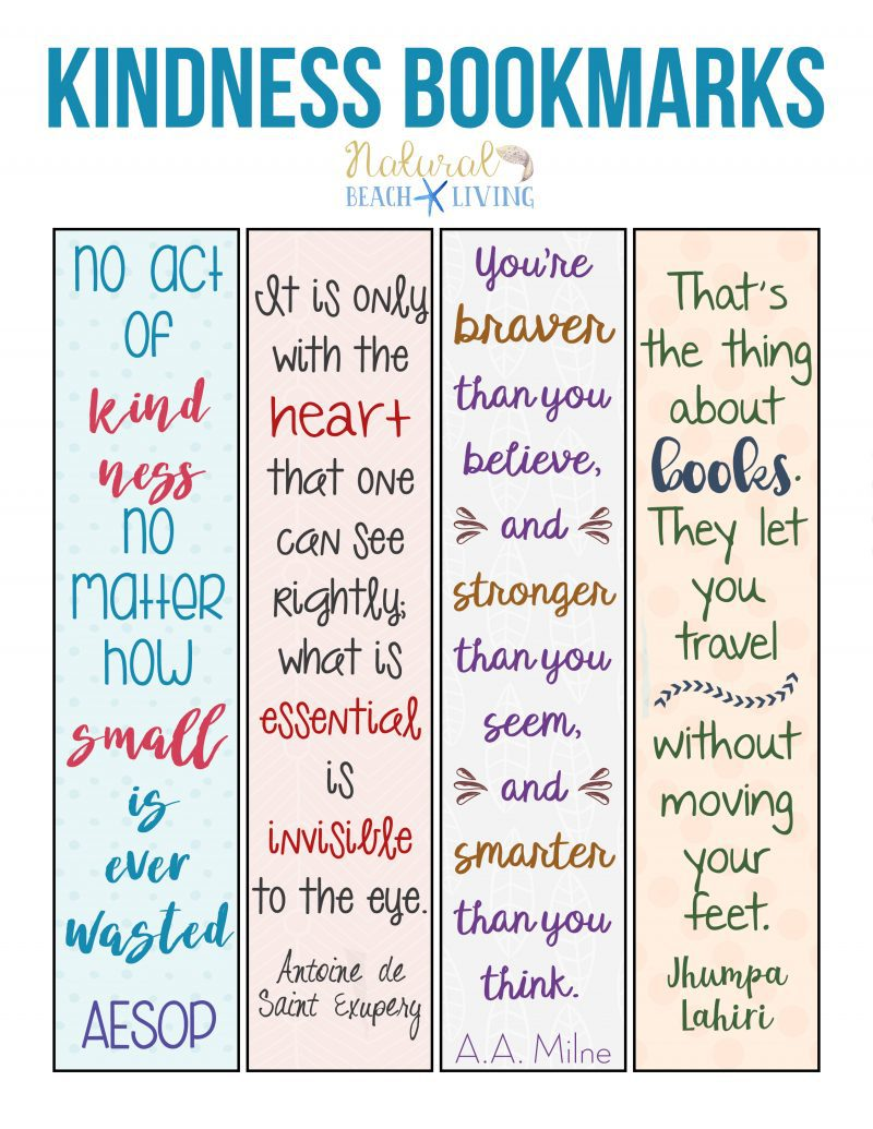graphic relating to Cute Bookmarks Printable titled 15 Do it yourself Bookmarks - Cutesy Crafts