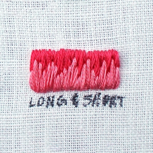 How to Long and Short Stitch
