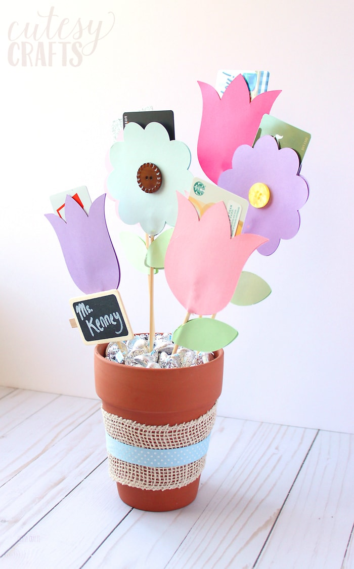 Gift Card Bouquet Tutorial
