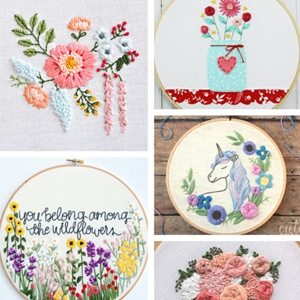 Hand Embroidery Designs Archives Cutesy Crafts